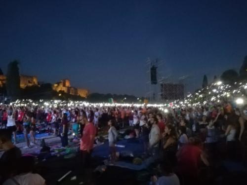 colpo d'occhio dei Giovani a Roma